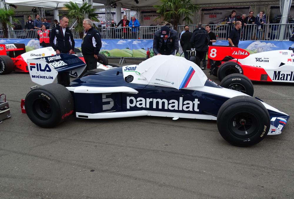 Formel 1 Wagen alt