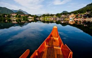 Sommer Bootaussicht