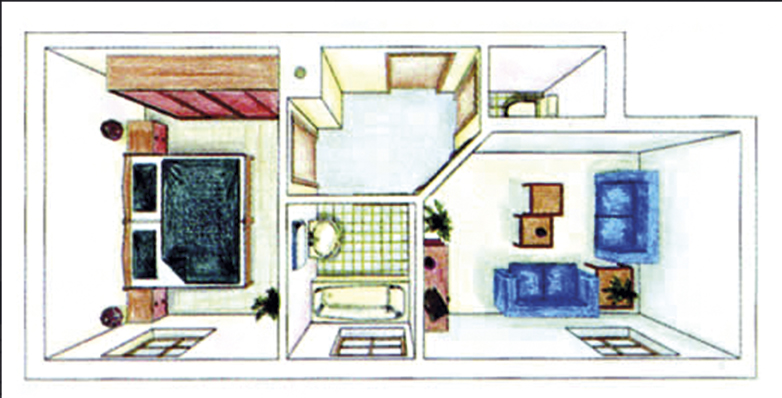 Familienzimmer Grundriss